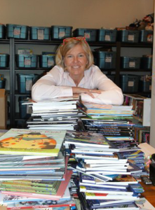 Kim Beatty, founder and executive director of the Children's Book Bank in Toronto. Photo courtesy of Kim Beatty