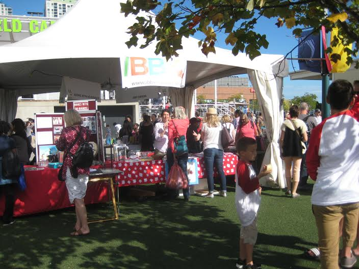 The IBBY Canada booth at Toronto's The Word on the Street. Photo courtesy of Theo Heras.