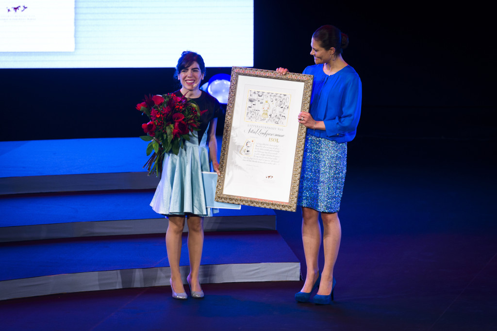 Isol, the Argentinian illustrator, cartoonist, graphic artist, writer, singer, and composer is the winner of the 2013 Astrid Lindgren Memorial Award (ALMA), the world's largest award for children's and young adult literature.