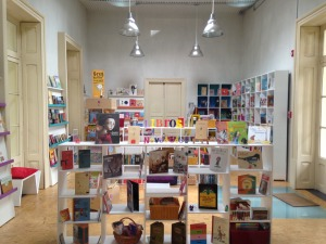The bookstore at IBBY México. Photo courtesy of Meghan Howe