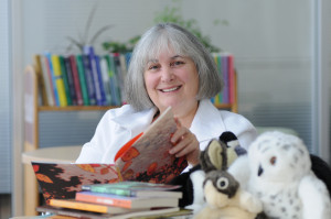 Judith Saltman, winner of the 2014 Claude Aubry Award (English). Photo courtesy of Judith Saltman.