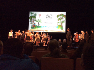 Haka welcome to open the 2016 Congress. Photo courtesy of Catherine Mitchell.